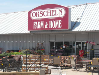 Front view of Orscheln Farm & Home Store in Lincoln, Nebraska 68507-3106