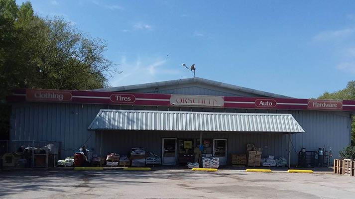 Front view of Orscheln Farm & Home Store in Oskaloosa, Iowa 52577