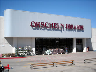 Front view of Orscheln Farm & Home Store in Nebraska City, Nebraska 68410