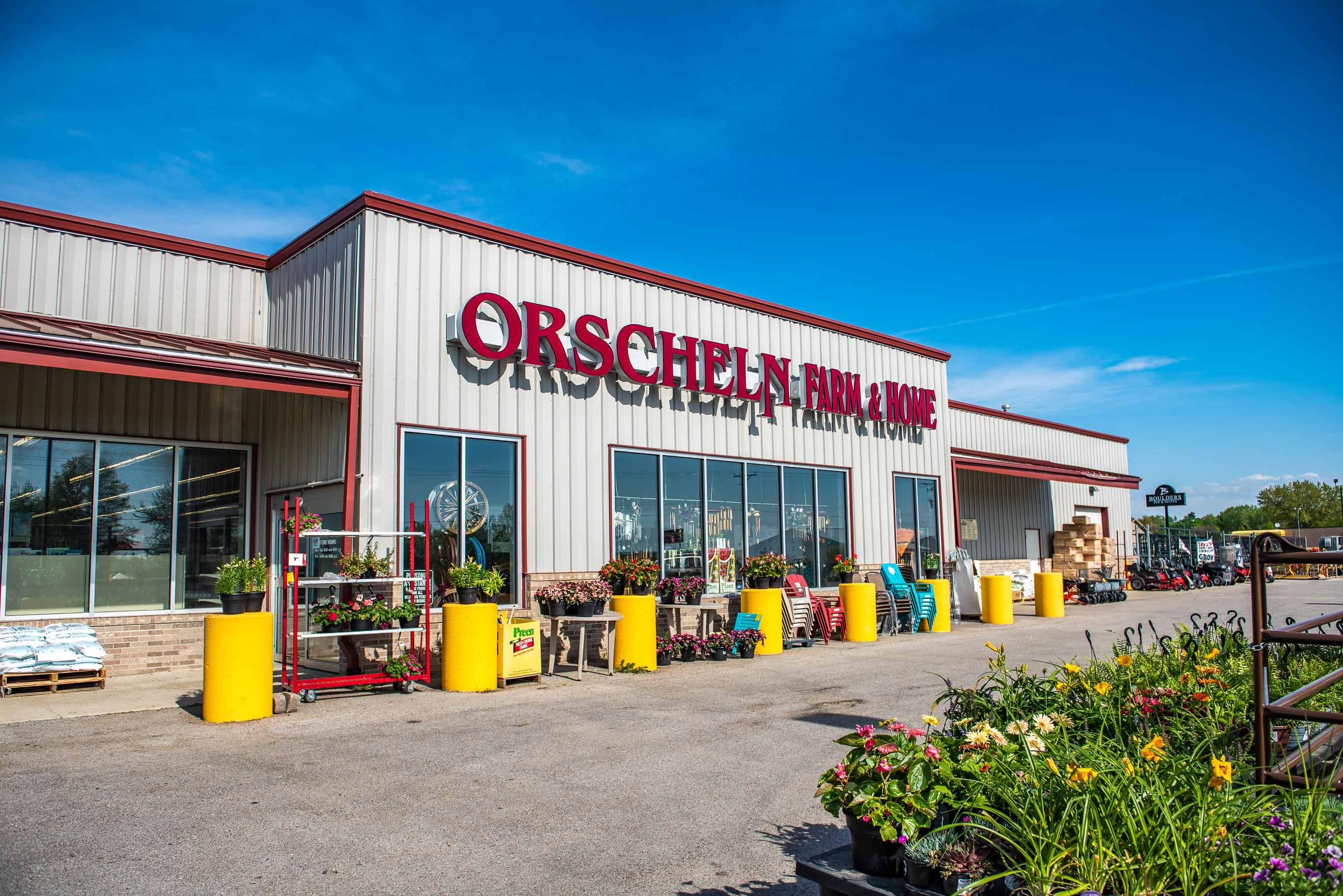 Front view of Orscheln Farm & Home Store in Clarinda, Iowa 51632