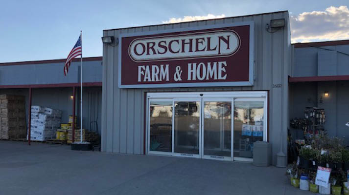 Front view of Orscheln Farm & Home Store in McCook, Nebraska 69001