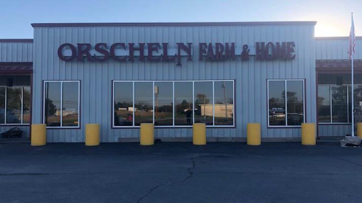 Front view of Orscheln Farm & Home Store in Centerville, Iowa 52544