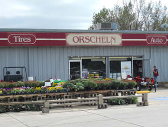 Front view of Orscheln Farm & Home Store in Guthrie Center, Iowa 50115