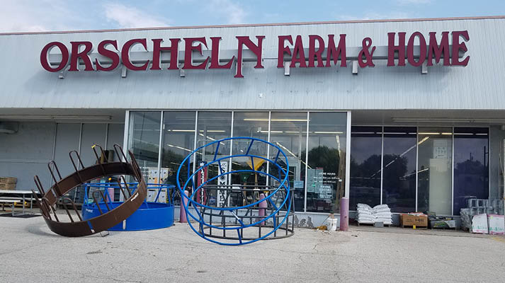 Front view of Orscheln Farm & Home Store in Atlantic, Iowa 50022