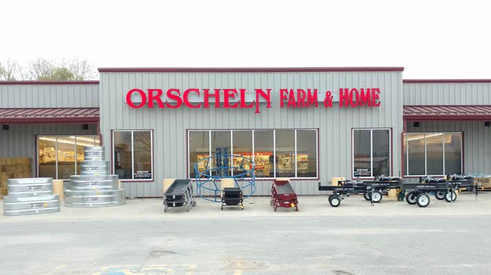Front view of Orscheln Farm & Home Store in Red Oak, Iowa 51566-1368