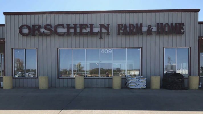 Front view of Orscheln Farm & Home Store in Auburn, Nebraska 68305