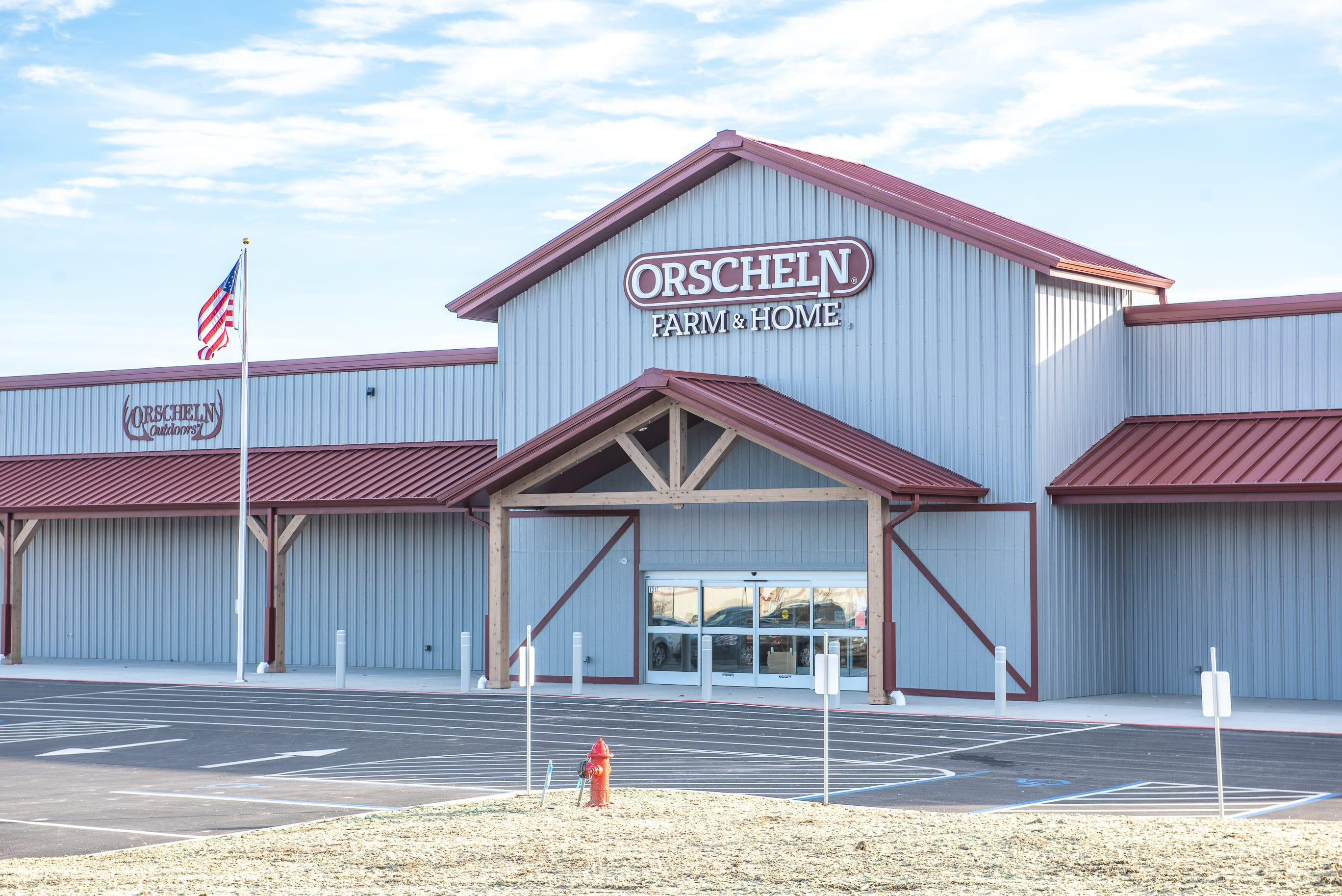 Front view of Orscheln Farm & Home Store in Junction City, Kansas 66441