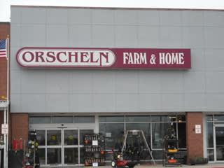 Front view of Orscheln Farm & Home Store in Trenton, Missouri 64683