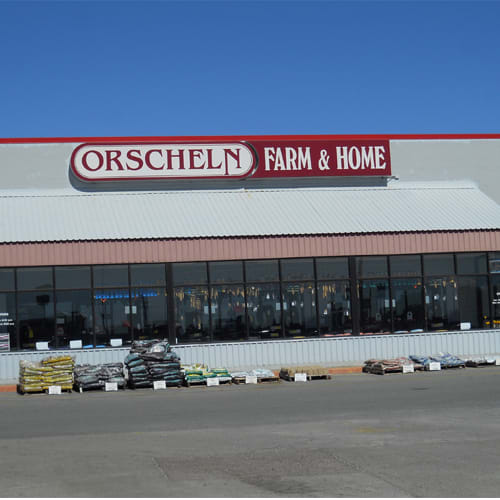 Front view of Orscheln Farm & Home Store in Durant, Oklahoma 74701-4807