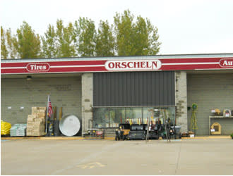 Front view of Orscheln Farm & Home Store in Boone, Iowa 50036