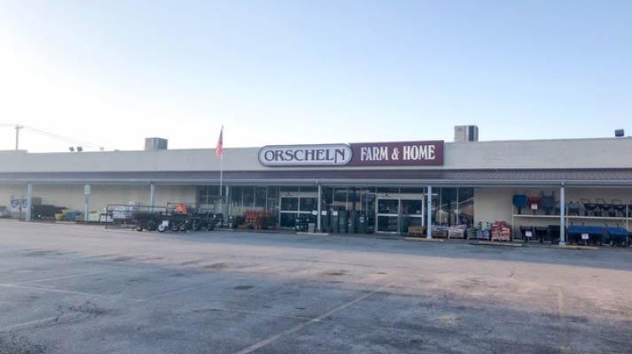 Front view of Orscheln Farm & Home Store in Warrenton, Missouri 63383-2102
