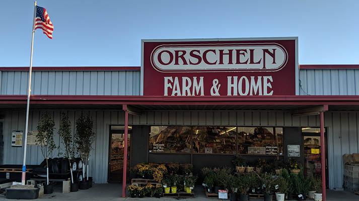 Front view of Orscheln Farm & Home Store in North Platte, Nebraska 69101-7452
