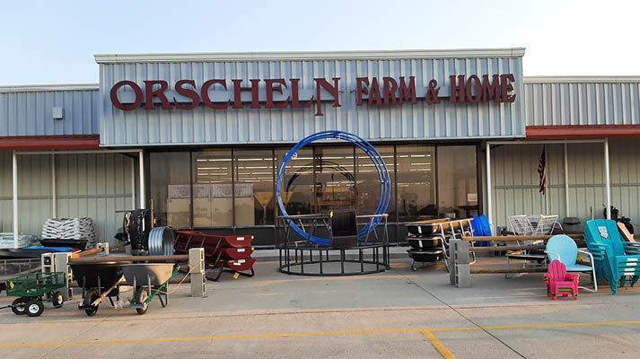 Front view of Orscheln Farm & Home Store in Ord, Nebraska 68862-1921