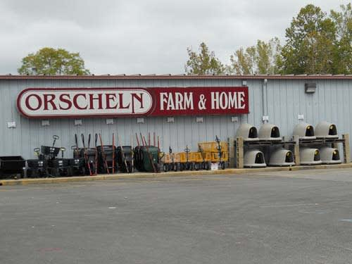Front view of Orscheln Farm & Home Store in Richmond, Indiana 47374-4621