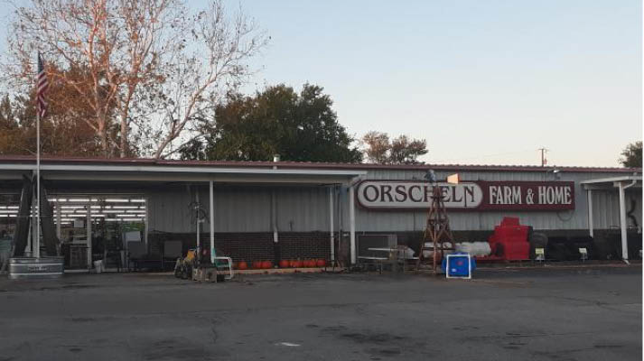Front view of Orscheln Farm & Home Store in Charlestown, Indiana 47111