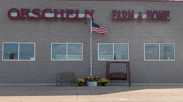 Front view of Orscheln Farm & Home Store in Grand Island, Nebraska 68803