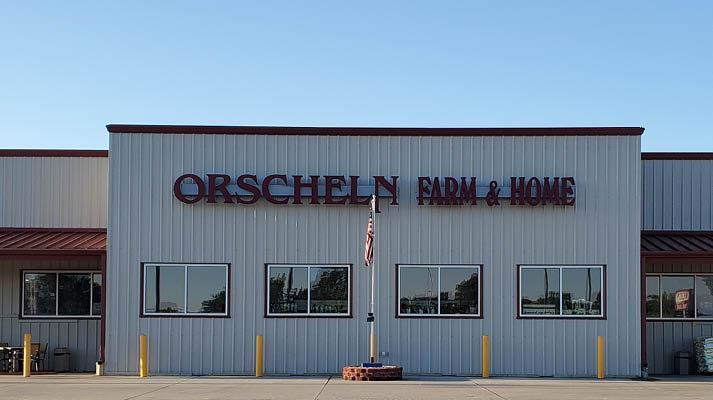 Front view of Orscheln Farm & Home Store in Holdrege, Nebraska 68949