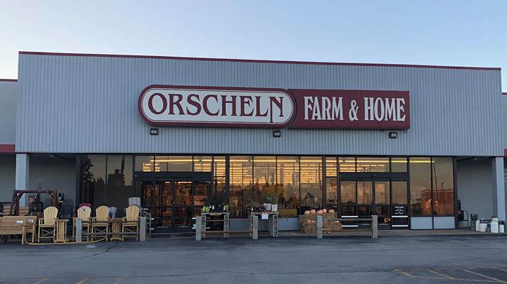 Front view of Orscheln Farm & Home Store in Republic, Missouri 65738-1570