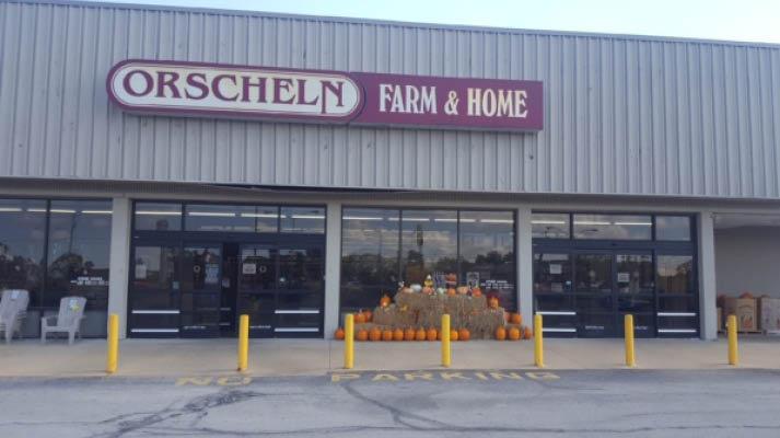 Front view of Orscheln Farm & Home Store in DeSoto, Missouri 63020