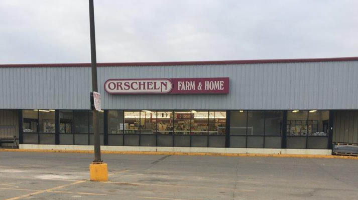 Front view of Orscheln Farm & Home Store in Concordia, Kansas 66901