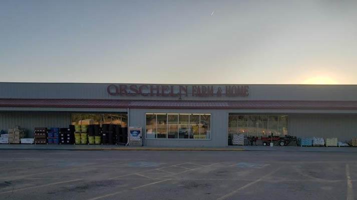 Front view of Orscheln Farm & Home Store in Fairbury, Nebraska 68352