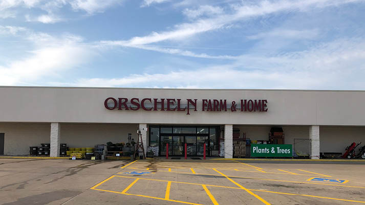 Front view of Orscheln Farm & Home Store in Canton, Missouri 63435
