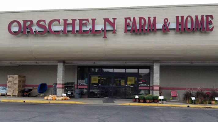 Front view of Orscheln Farm & Home Store in Tell City, Indiana 47586