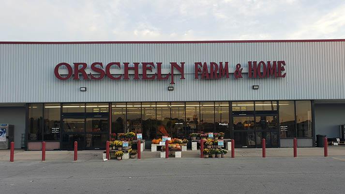 Front view of Orscheln Farm & Home Store in Marshfield, Missouri 65706-2311