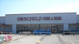 Front view of Orscheln Farm & Home Store in Owensville, Missouri 65066