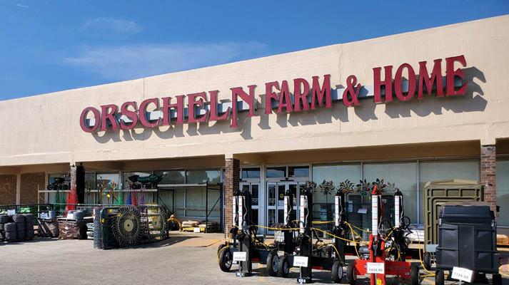 Front view of Orscheln Farm & Home Store in Paragould, Arkansas 72451