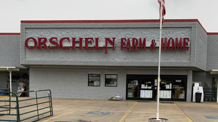 Front view of Orscheln Farm & Home Store in Pocahontas, Arkansas 72455