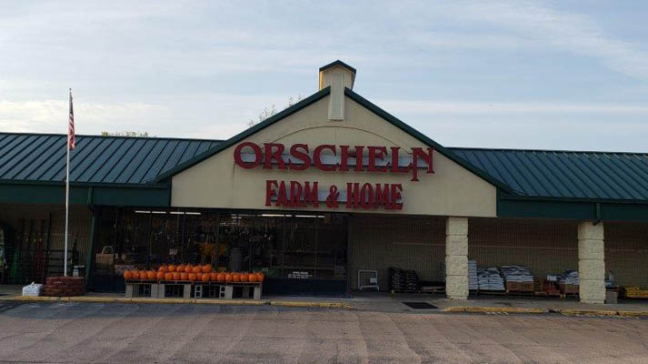 Front view of Orscheln Farm & Home Store in Pacific, Missouri 63069