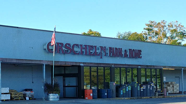 Front view of Orscheln Farm & Home Store in Linton, Indiana 47441