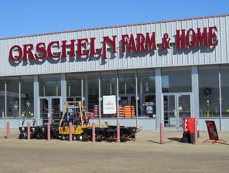 Front view of Orscheln Farm & Home Store in Hugo, Oklahoma 74743