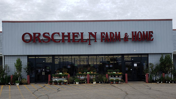 Front view of Orscheln Farm & Home Store in Winchester, Indiana 47394