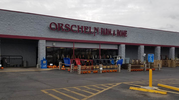 Front view of Orscheln Farm & Home Store in Iola, Kansas 66749
