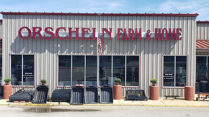 Front view of Orscheln Farm & Home Store in Huntington, Indiana 46750