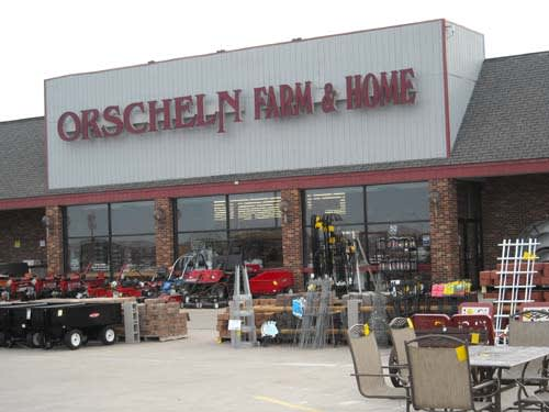 Front view of Orscheln Farm & Home Store in Monroe City, Missouri 63456-1460