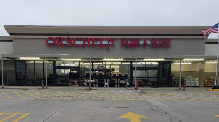 Front view of Orscheln Farm & Home Store in Kirksville, Missouri 63501