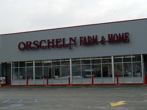 Front view of Orscheln Farm & Home Store in Louisiana, Missouri 63353