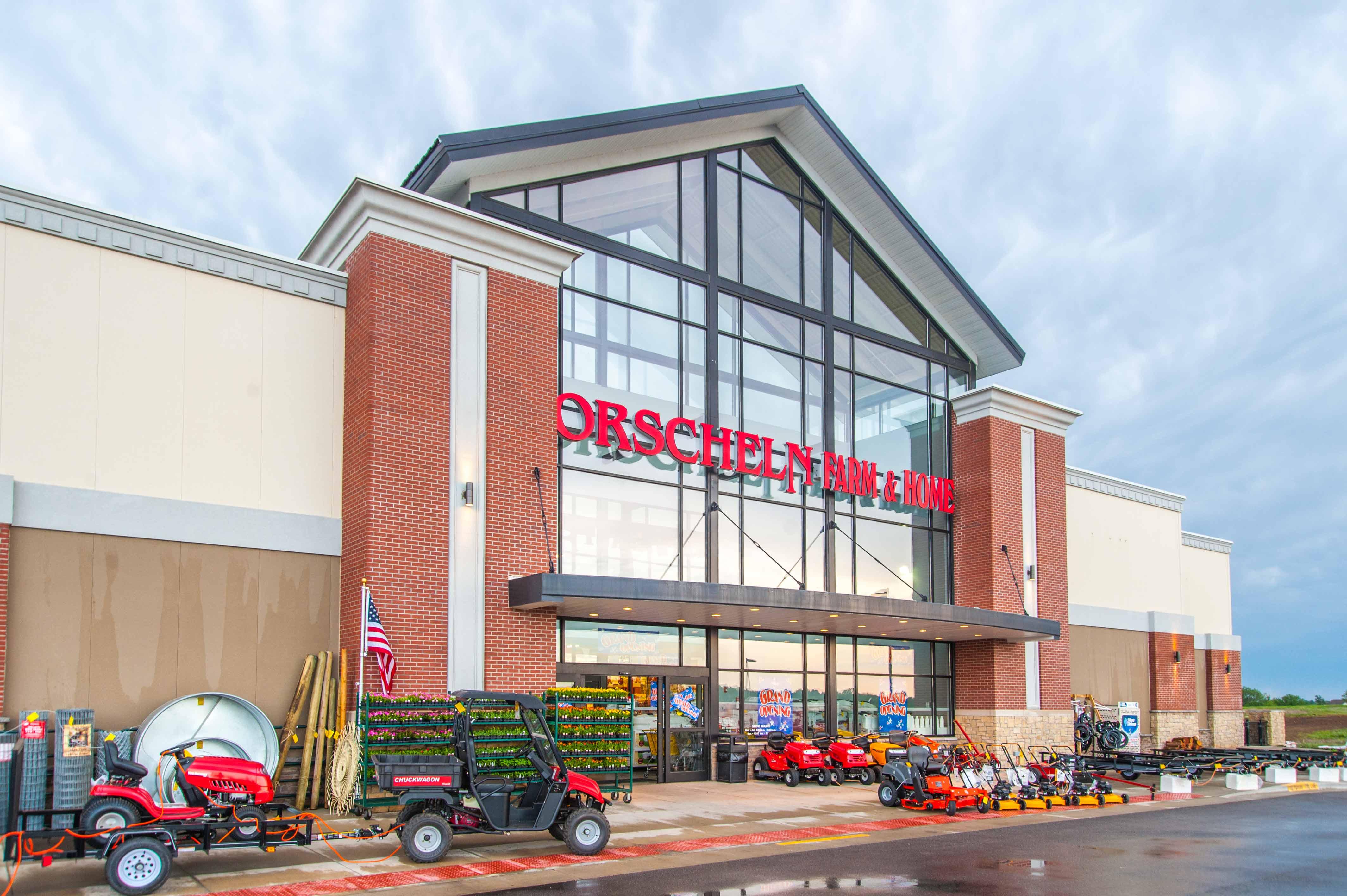 Front view of Orscheln Farm & Home Store in Basehor, Kansas 66007