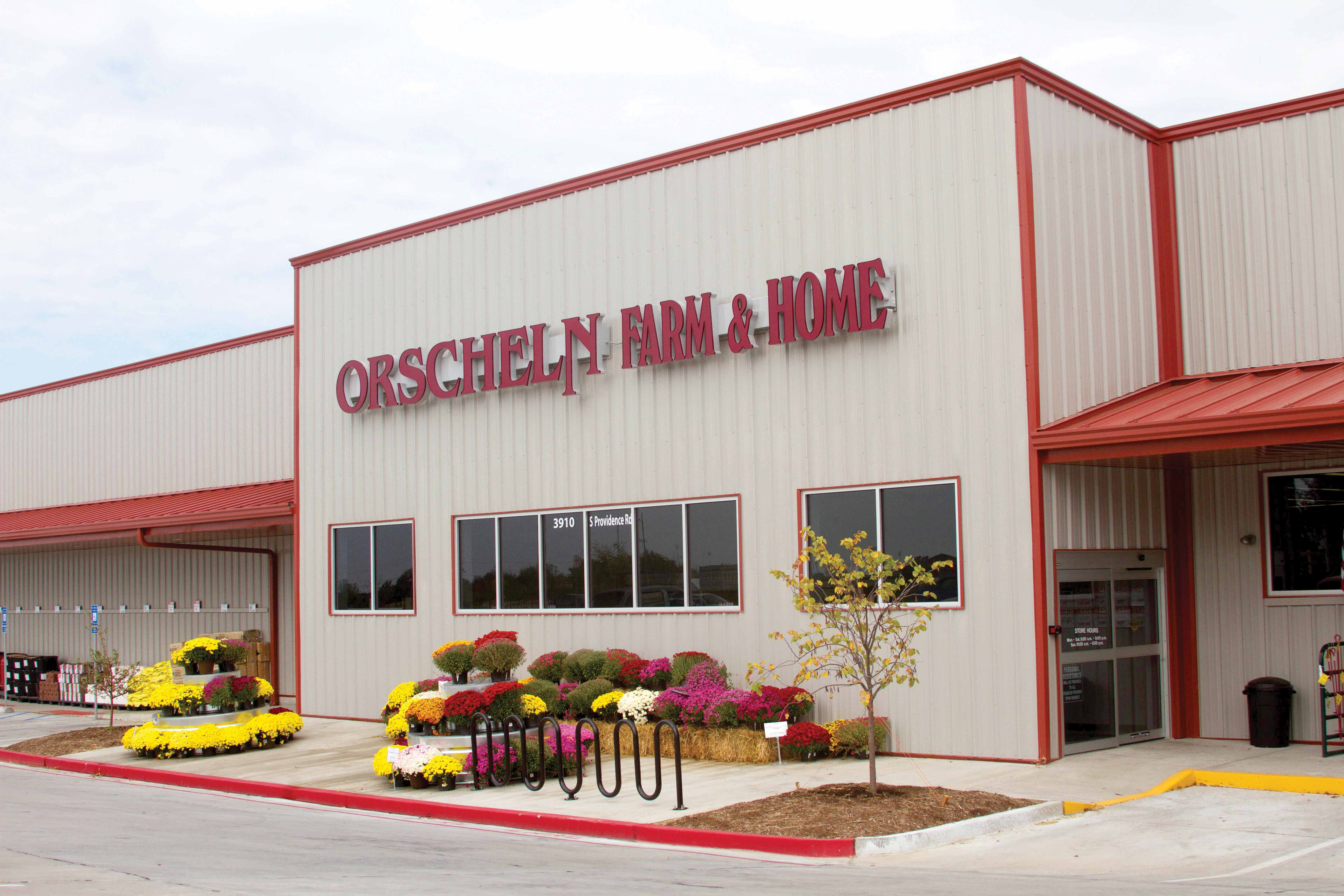 Front view of Orscheln Farm & Home Store in Columbia, Missouri 65203