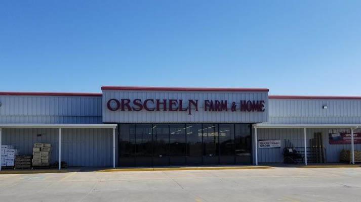 Front view of Orscheln Farm & Home Store in Sabetha, Kansas 66534