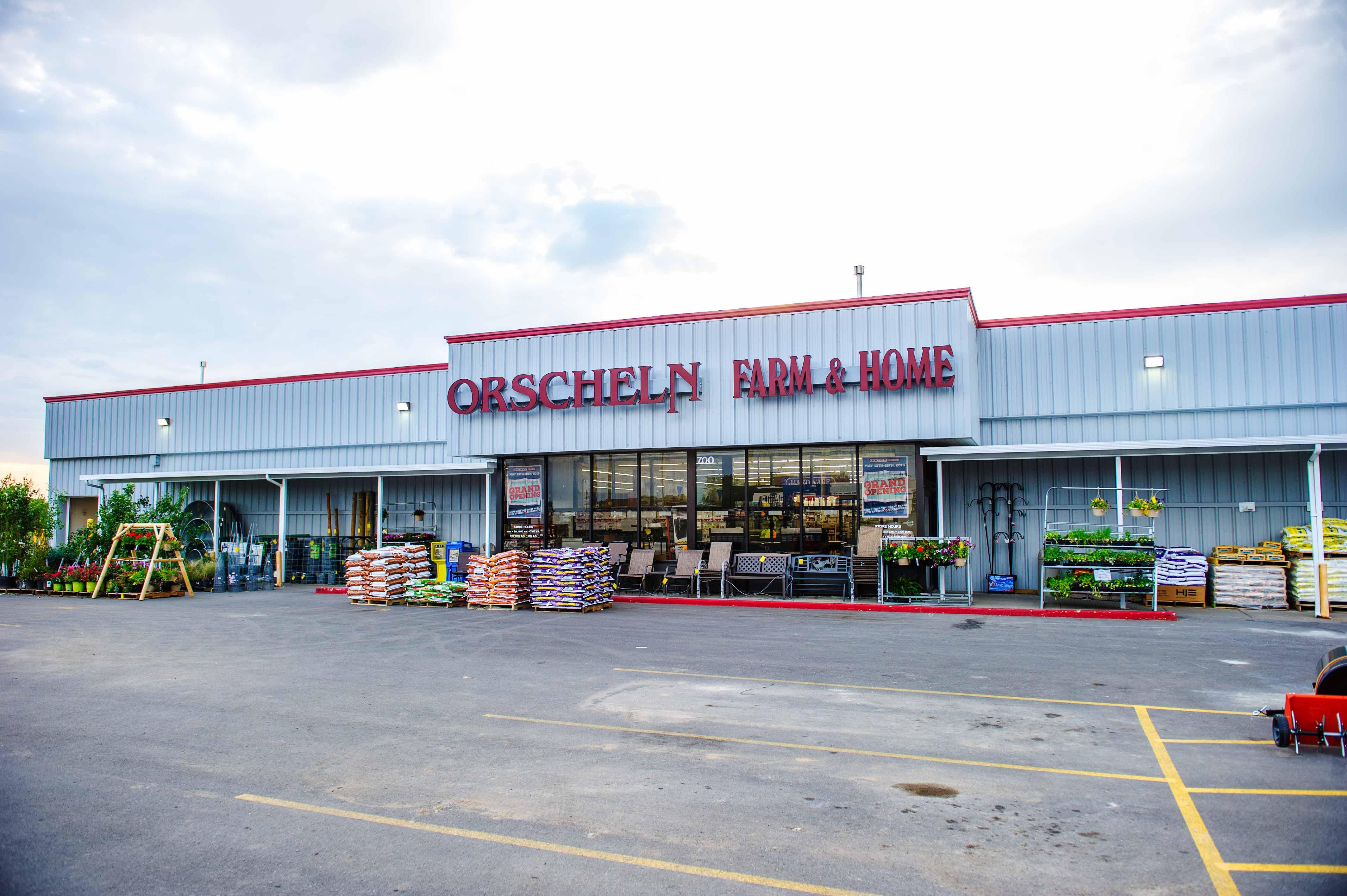Front view of Orscheln Farm & Home Store in Garnett, Kansas 66032