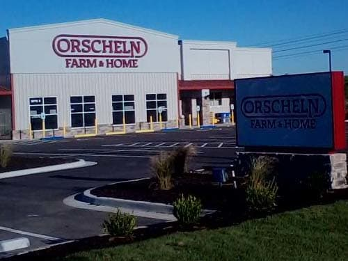 Front view of Orscheln Farm & Home Store in Gardner, Kansas 66030