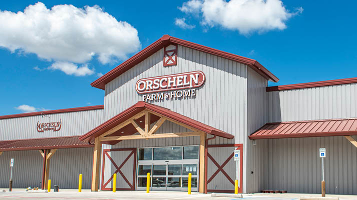 Front view of Orscheln Farm & Home Store in Decatur, Texas 76234