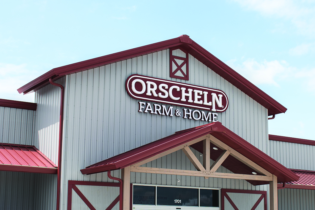 Front view of Orscheln Farm & Home Store in Lexington, Nebraska 68850-2621