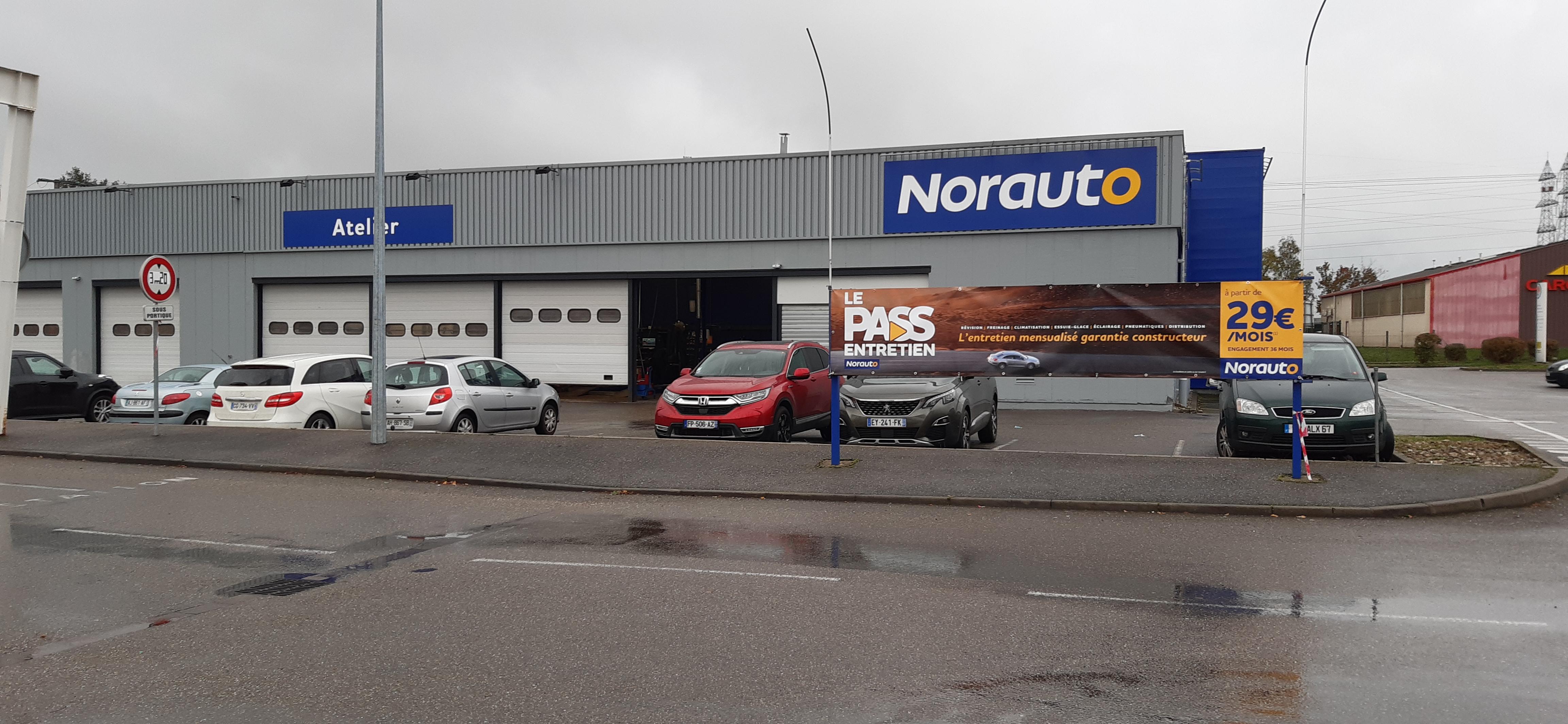 Votre centre auto Norauto Geispolsheim