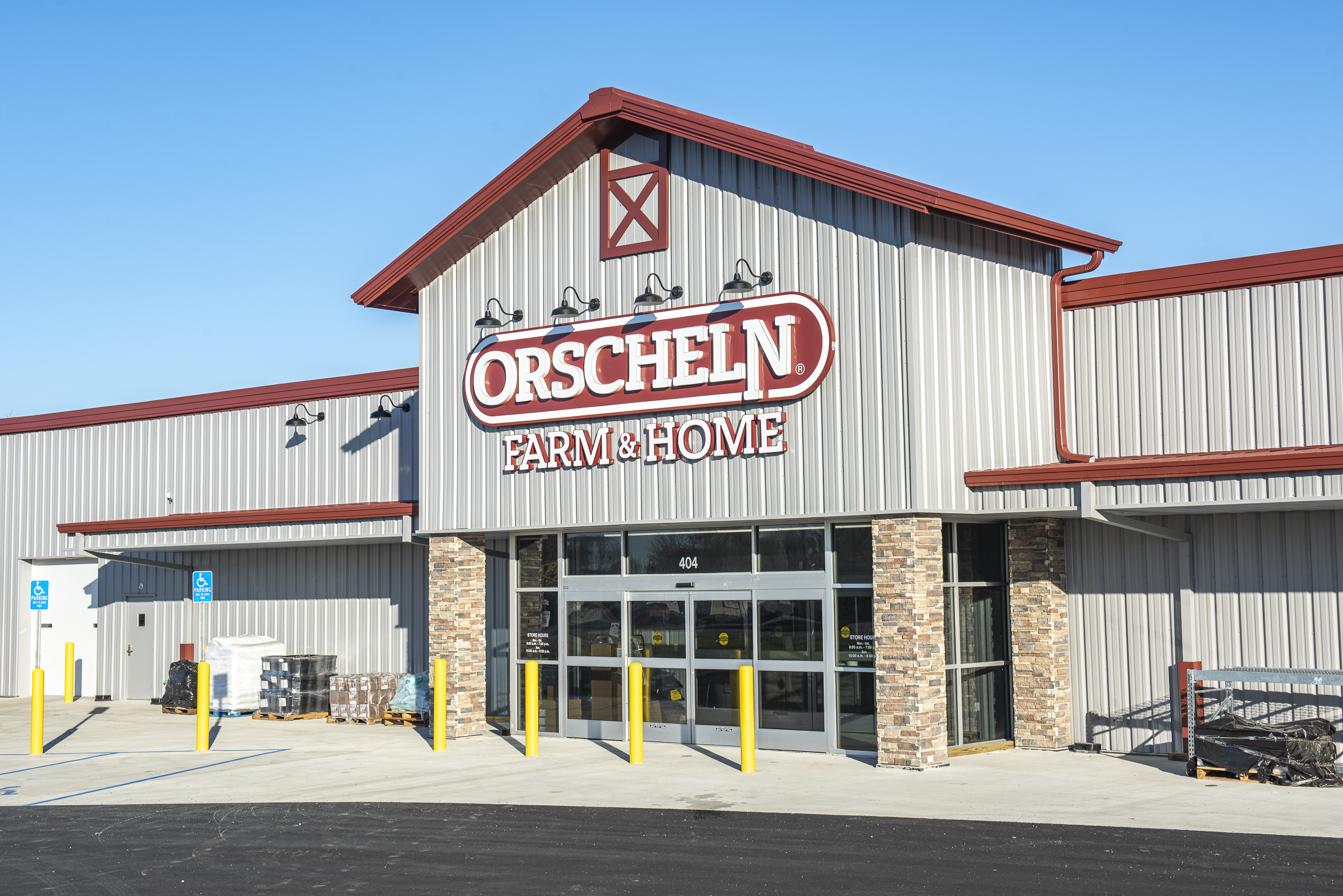 Front view of Orscheln Farm & Home Store in Salisbury, Missouri 65281