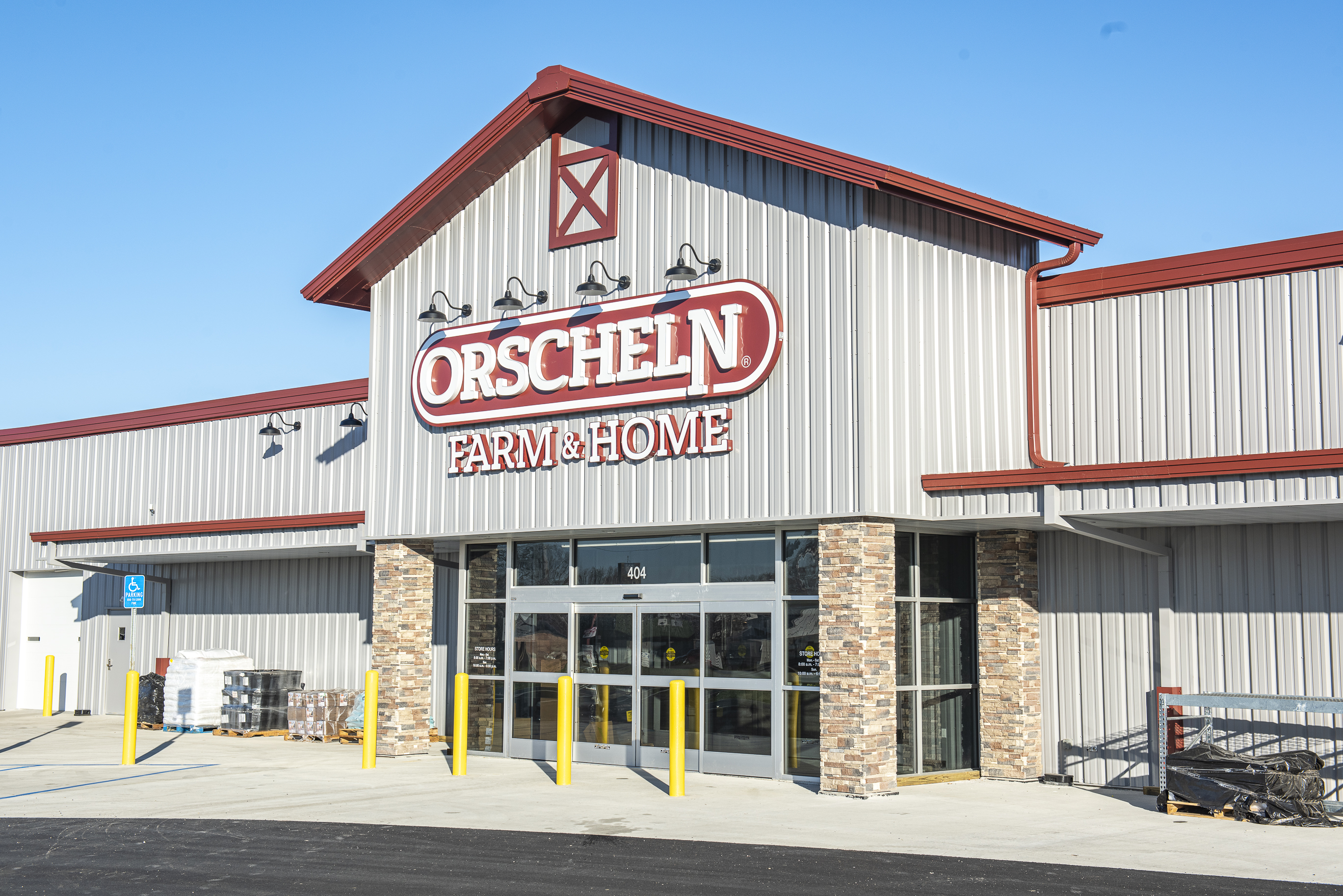 Front view of Orscheln Farm & Home Store in Ottawa, Kansas 66067